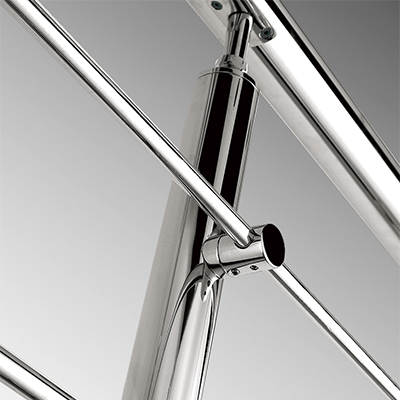 Exterior Contemporary stainless steel handrail